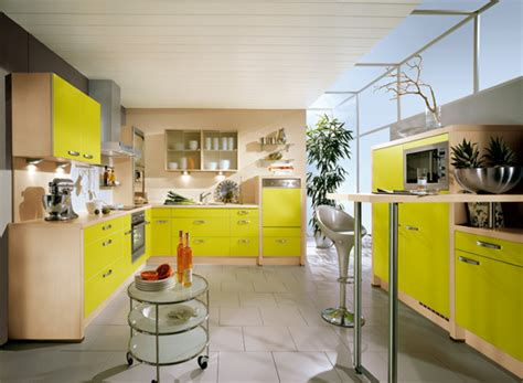 Yellow Kitchen Designs Yellow Kitchens