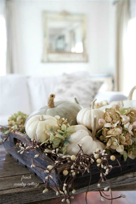 Dining Room Table Centerpiece decorating with pumpkins house of hargrove