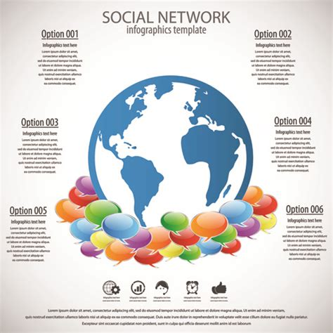 social network template free business template social network vector design vector free