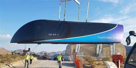 design lop travel hyperloop one levitates vehicle above test track in first