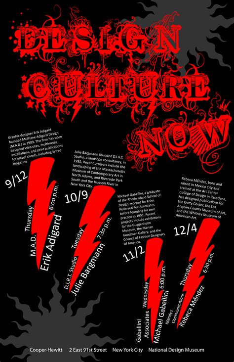 design culture now poster design culture now text based poster by kawaiistudios on