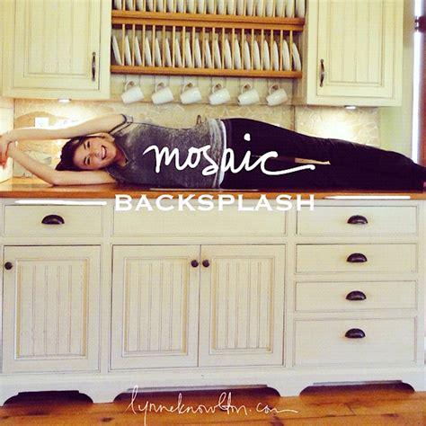 how to make a kitchen backsplash how to make a mosaic backsplash design the you
