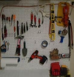 pegboard garage pegboard tool organization the happy housewife home