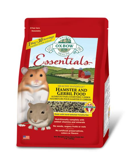 essential hamster gerbil feed petlife international