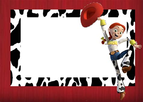 imagenes vaqueras para editar kit de jessie de toy story para imprimir gratis ideas