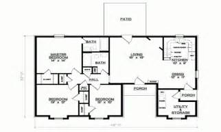 Simple 3 Bedroom Floor Plans 3 Bedroom 1 Floor Plans Simple 3 Bedroom House Floor Plans