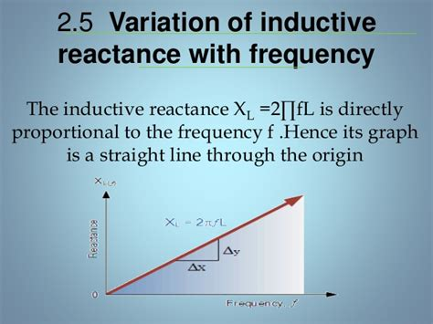 inductive line reactance single phase ac circuits