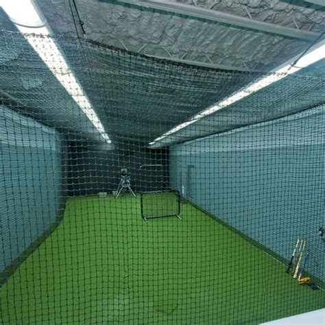 basement batting cage baseball why not