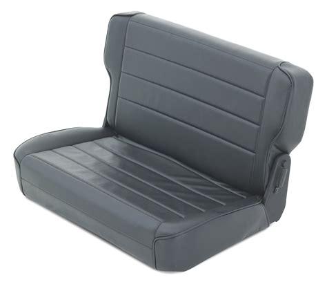 jeep seats fold smittybilt rear fold tumble seat for 87 95 jeep