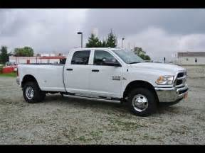 Dodge Dually Trucks For Sale 2014 Ram 3500 Slt Truck White Diesel Dually For Sale