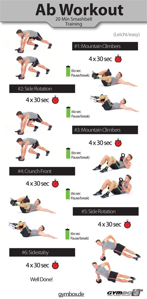 24 ab workouts that will give you a flatter belly