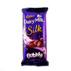 Flowers Gifts Online - gift cadbury dairy milk silk bubbly 120 gms buy amp send