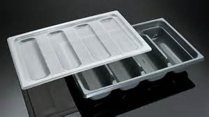 cutlery tray with cover