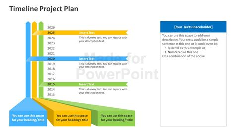 project powerpoint template timeline project plan powerpoint template