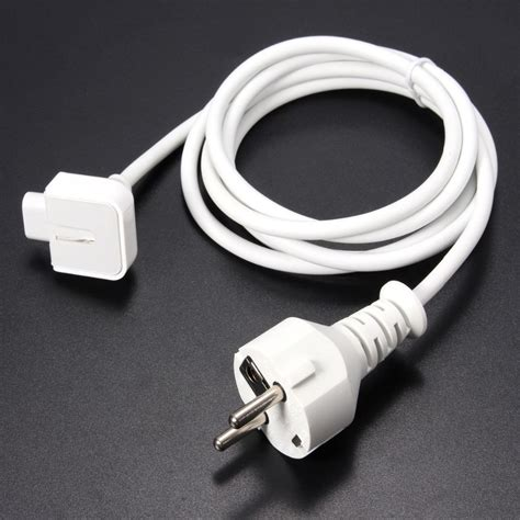 Eu Ac For Apple Adaptor Macbook eu power extension cable cord for apple macbook pro air ac wall charger adapter new in mp3