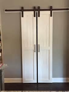 Sliding Kitchen Doors Interior Sliding Barn Door Style Pantry Doors Door Only By Russbuilders