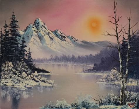 bob ross paintings auction the evergreen appeal of bob ross the rumpus net