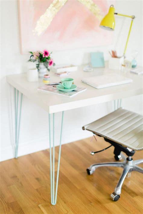 diy kitchen table ikea legs awesome ikea desk hacks