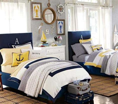 Children S Nautical Bedroom Decor by Nautical Decorating Ideas For Rooms From Pottery Barn
