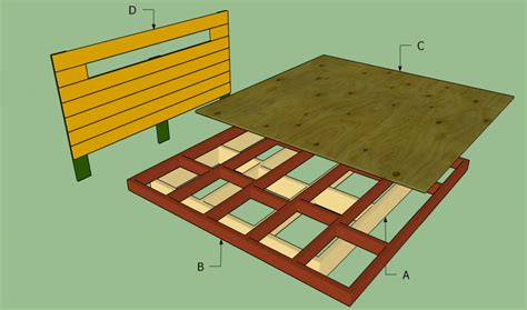 King Size Platform Bed Frame Plans Woodwork King Size Platform Bed Woodworking Plans Pdf Plans