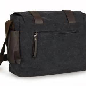 Black With Jacket T040 canvas shoulder bag briefcase backpack messenger