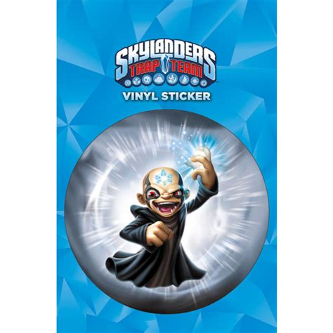 Kaos 3d Ghostbusters skylanders trap team kaos sticker merchandise zavvi