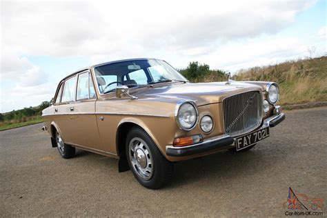 volvo 164 auto gold stunning in every way show condition