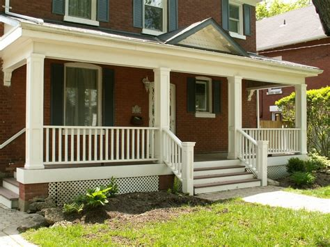 wooden porch railings ideas