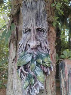 Cloture Jardin Bois 3241 by Tree Garden Ornament Sculptures Statues Tree Wizard