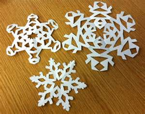 Snowflakes Paper - enamelling in progress snow
