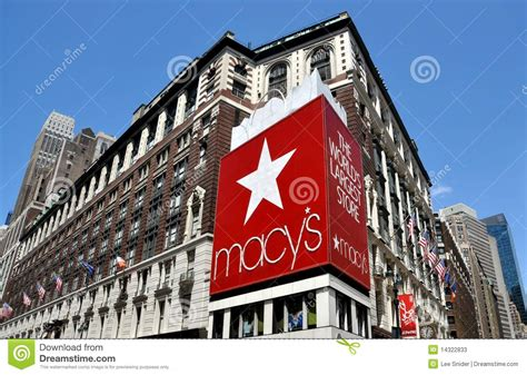 macy s nyc macy s department store editorial stock photo image 14322833