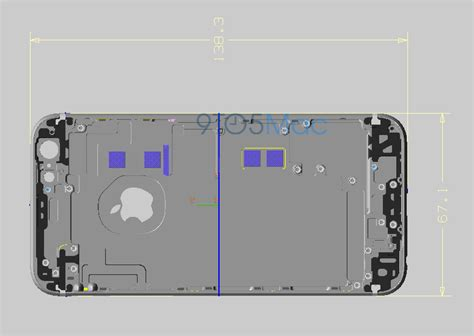 iphone  images show updated nfc gb base storage  chips design tweaks tomac