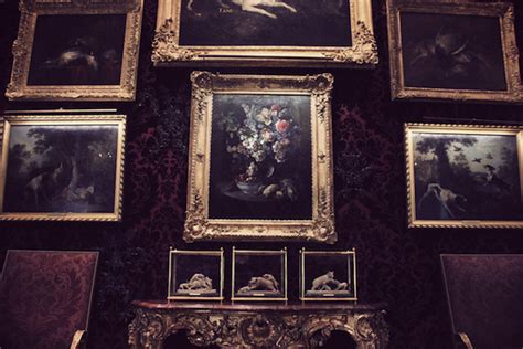 Cabinet De Chasse De Tête by Musee De La Chasse Miss Pandora Louise Ebel