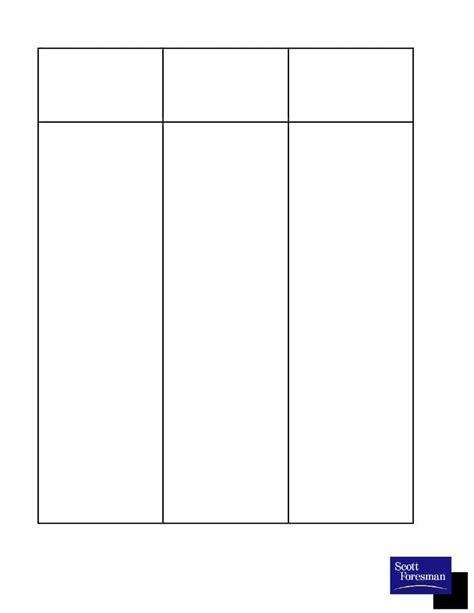 30 Printable T Chart Templates Exles Template Archive Chart Template
