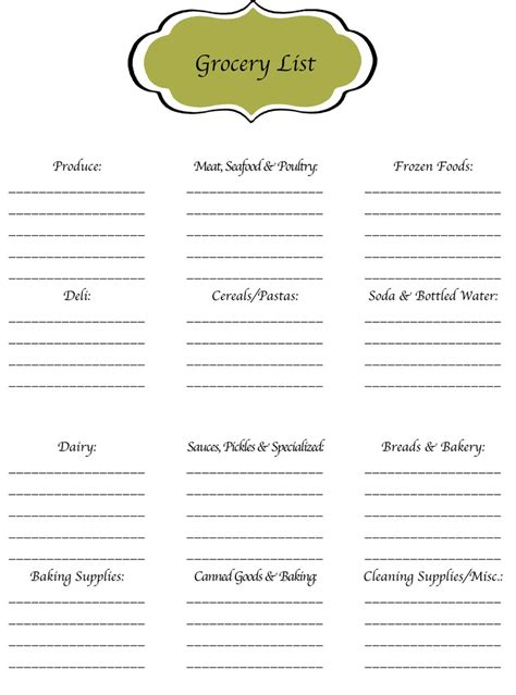 supermarket sections list 17 best images about grocery store on pinterest meals