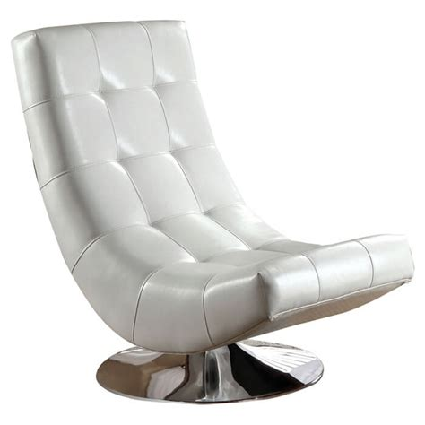 Swivel Chair Lounge Design Ideas 37 White Modern Accent Chairs For The Living Room