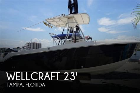 wellcraft boat sizes wellcraft 230 fisherman for sale in ta fl for 23 500