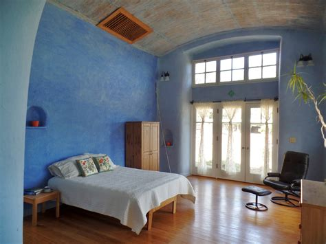 Loft Bedroom beautiful straw bale house for sale in california