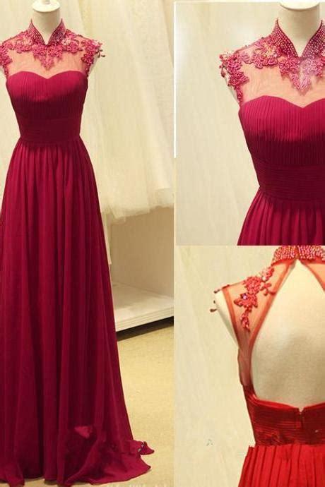 1606 Dress Moin 55 a line straps navy blue boho dress prom dress evening dress on luulla