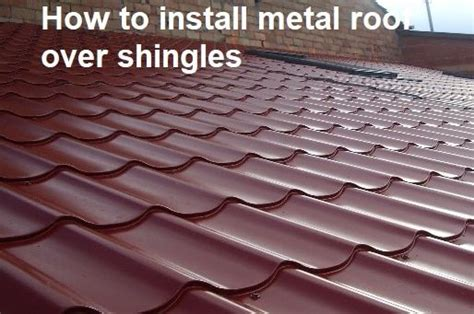 how to install a metal roof on a house how to install metal roof over shingles roofgenius com