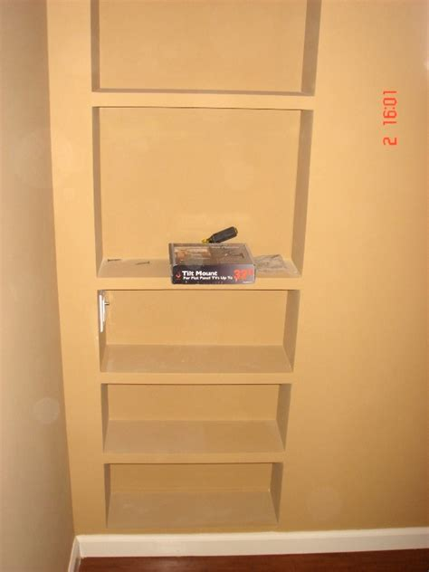In Wall Shelves Let S Do It Right Renovations