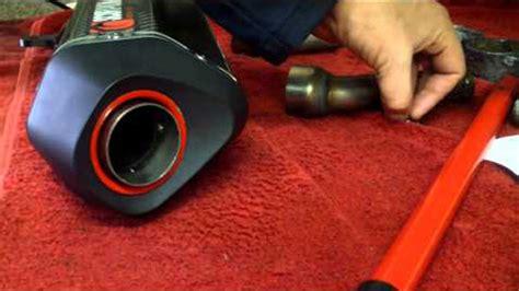 Knlapot Scorpion Fuell Carbon 250 Fi Slip On kawasaki 250 fi 2013 scorpion exhaust system