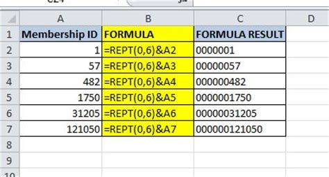excel 2007 leading zero format excel 2007 convert number to text with leading zeros how