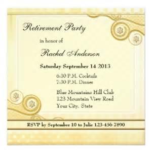 retirement dinner invitation template retirement invitation orionjurinform