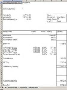 Muster Lohnabrechnung Schweiz Business Wissen Management Security Muster Lohnabrechnung