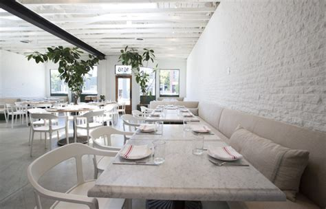 Interior Home Design Styles salt air a whitewashed restaurant in venice beach