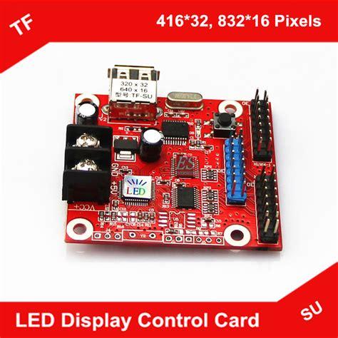Tf Su Led Controller tf su p10 led display card small usb flash driver