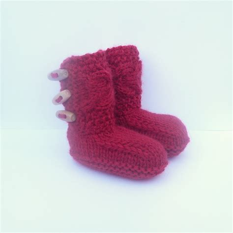 baby booties knit knitting pattern baby booties tiny toggle baby boots instant