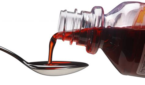 couch syrup fda codeine cough syrup should not be given to kids pbs