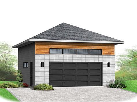 modern garage plans two car garage plans contemporary 2 car garage plan